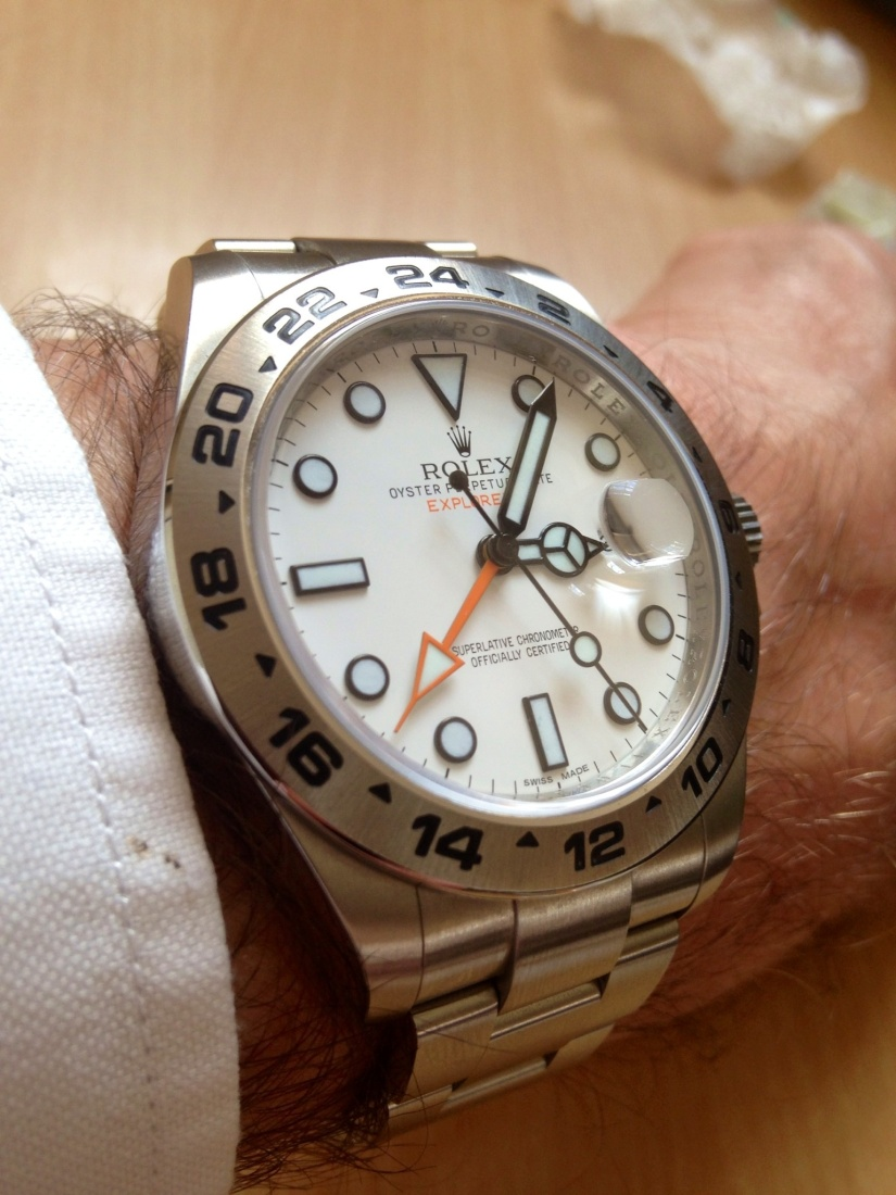 Rolex Oyster Perpetual Explorer 2